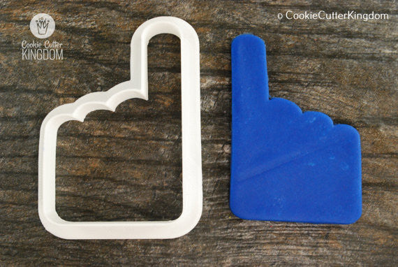 Foam Finger Cookie Cutter