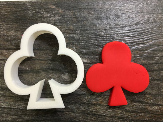 Clover Suit Cookie Cutter