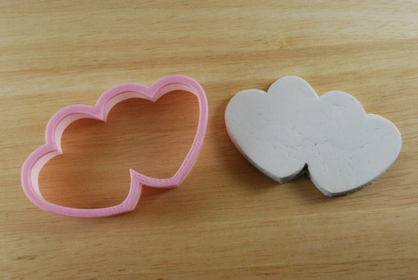 Double Heart Love Cookie Cutter