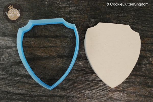 The Shield Plaque Cookie Cutter