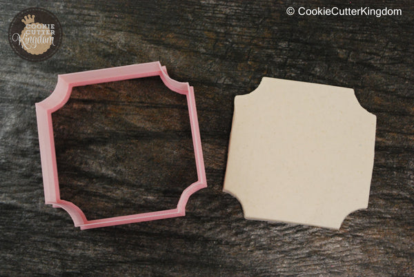 The Corner Plaque Cookie Cutter