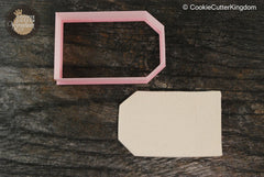 Label Tag Cookie Cutter
