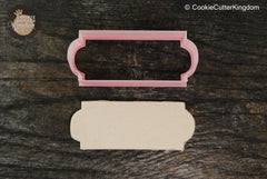 The Display Plaque Cookie Cutter