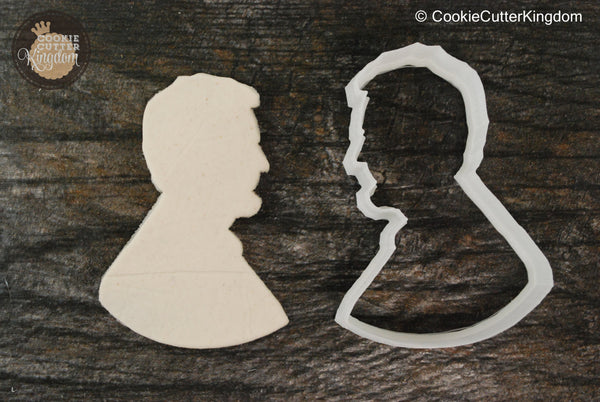 President Lincoln Cookie Cutter