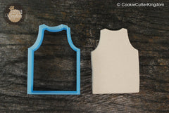 Basketball Jersey Cookie Cutter