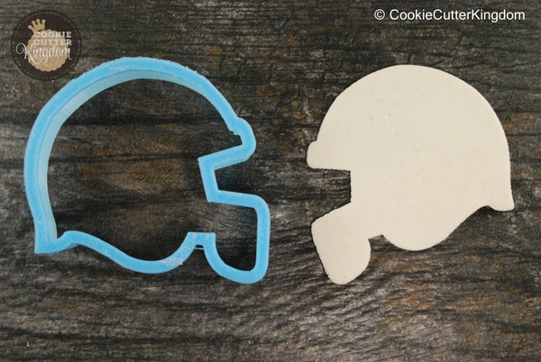 Football Helmet Cookie Cutter