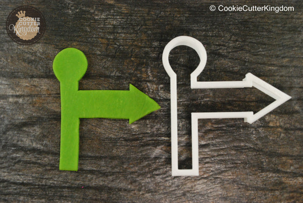 Sign Post Cookie Cutter