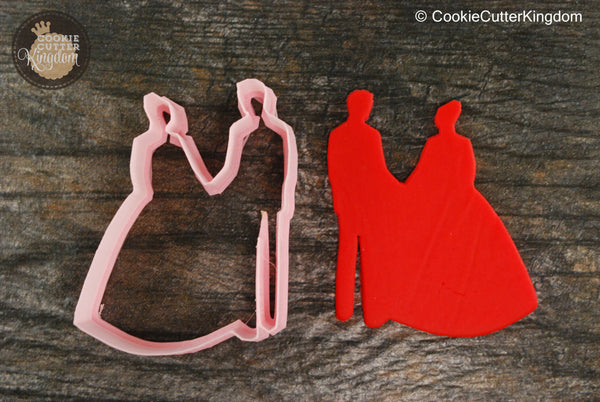 Bride and Groom Wedding Cookie Cutter