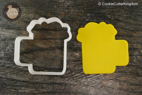 Frothy Beer Mug Cookie Cutter