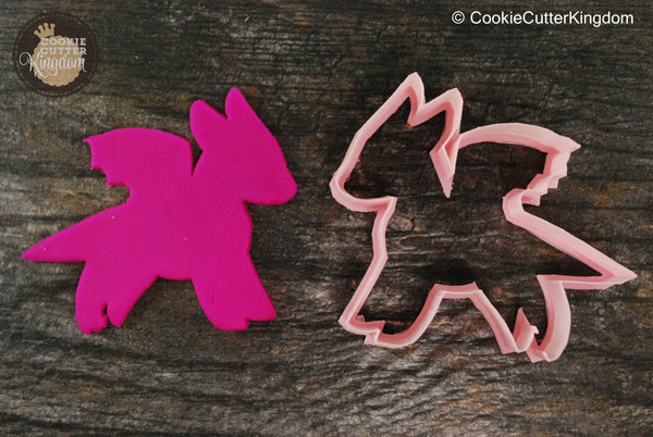 Cute Dragon Cookie Cutter