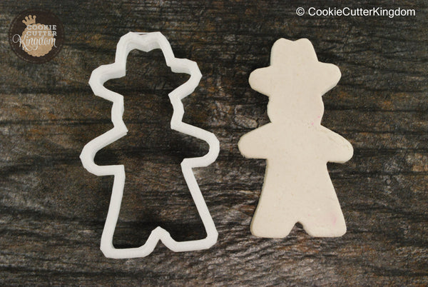 Cowboy Silhouette Cookie Cutter