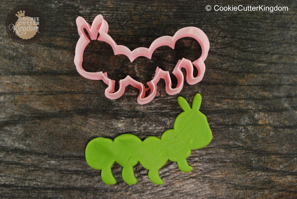 Cute Caterpillar Insect Cookie Cutter
