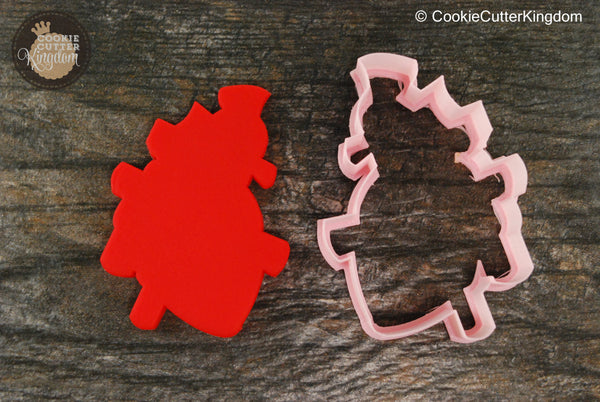 Human Heart Cookie Cutter