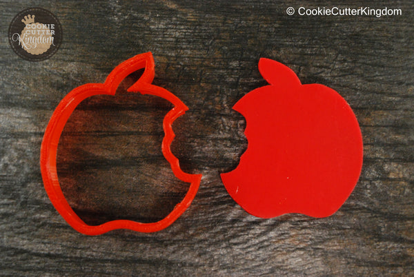 Bitten Apple Fruit Cookie Cutter