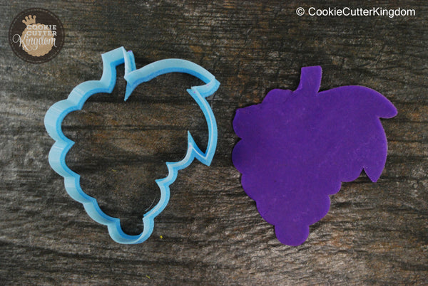 Grapes Bunch Fruit Cookie Cutter
