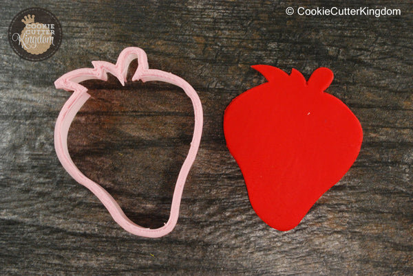 Strawberry Fruit Cookie Cutter