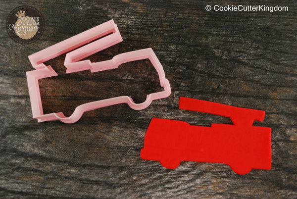 Fire truck Cookie Cutter
