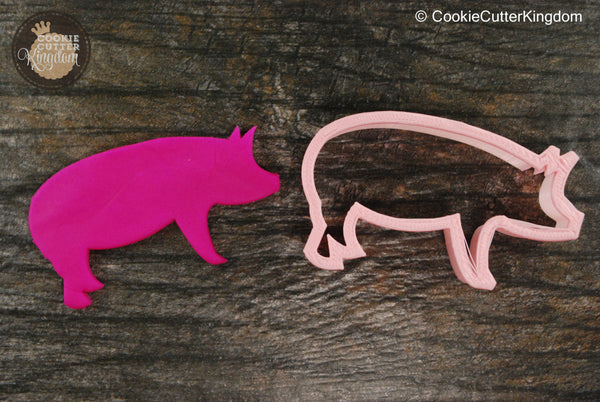 Pig Animal Cookie Cutter