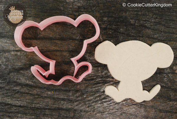 Monkey Animal Cookie Cutter