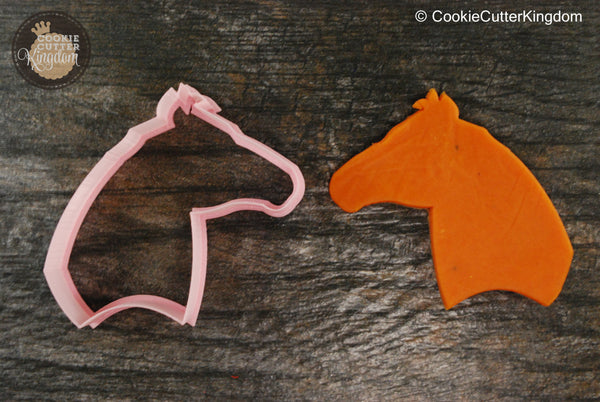 Horse Head Animal Cookie Cutter