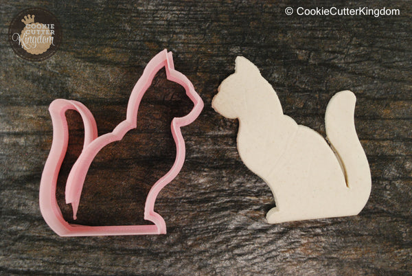 Gentle Cat Animal Cookie Cutter