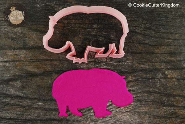 Lumpy Hippo Animal Cutter