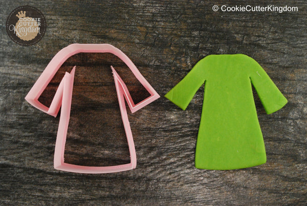 Wizard Robe Cookie Cutter