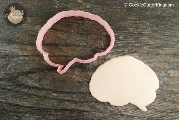 Human Brain Cookie Cutter