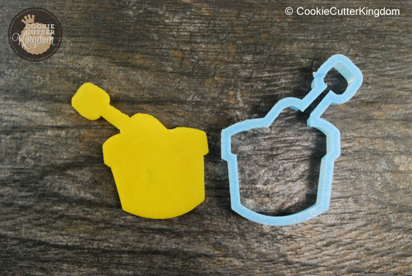 Sand Bucket Cookie Cutter