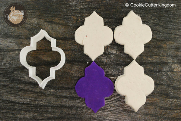 Quatrefoil Cookie Cutter