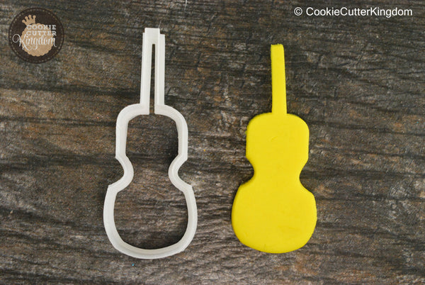 Cello Musical Instrument Cookie Cutter