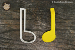 Quarter Note Cookie Cutter