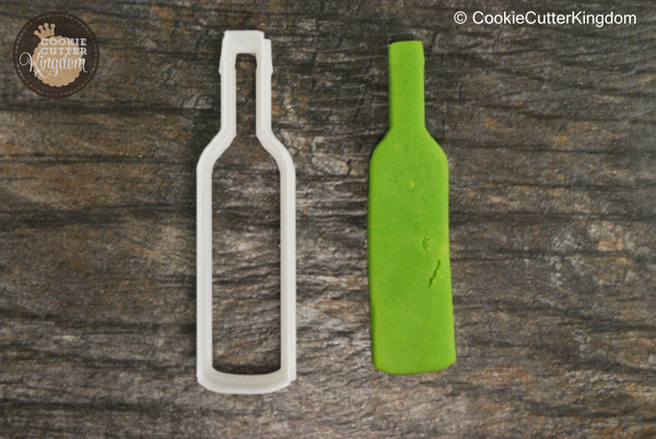 Wine Bottle Cookie Cutter