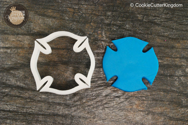 The Emblem Plaque Cookie Cutter