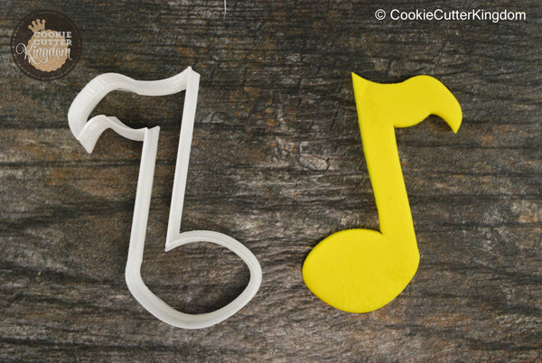 Eight Note Music Cookie Cutter