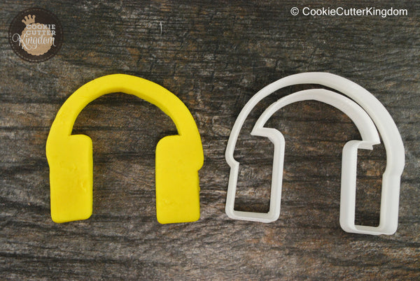 Headphone Music Cookie Cutter