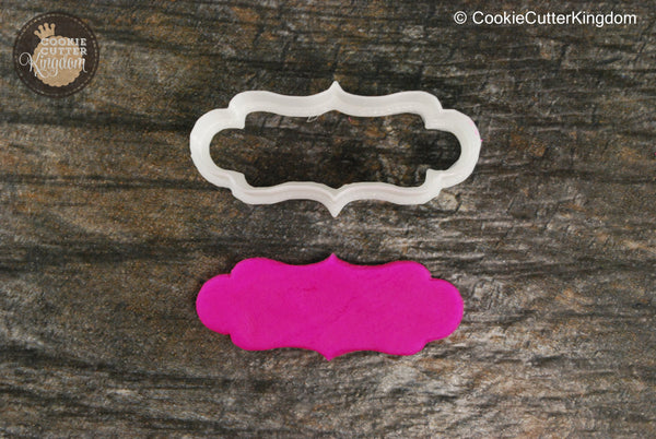 The Antwerp Plaque Cookie Cutter
