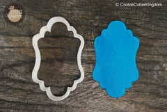 The Adonis Plaque Cookie Cutter