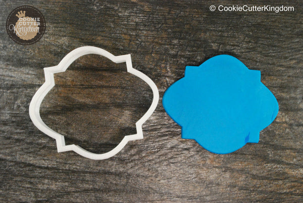 The Cairo Plaque Cookie Cutter
