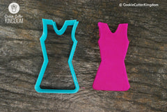 Cheerleader Uniform Cookie Cutter