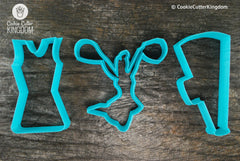 Cheerleader Cookie Cutter Set