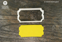 Movie Ticket Cookie Cutter