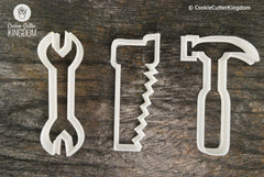 3 Piece Tools Cookie Cutter Set