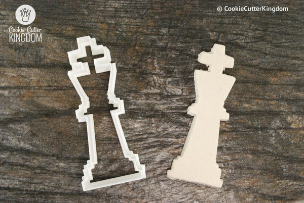 King Chess Piece Cookie Cutter