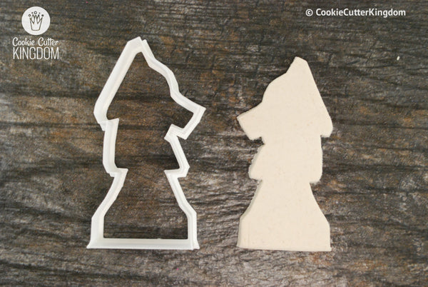 Knight Chess Piece Cookie Cutter