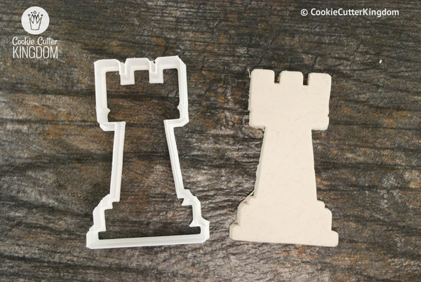 Rook Chess Piece Cookie Cutter