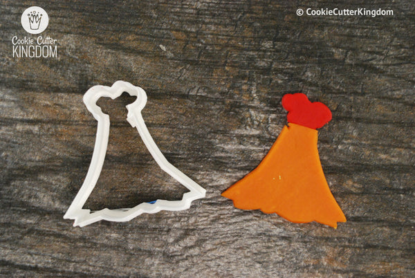 Volcano Cookie Cutter