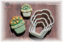 Flower Pot Cookie Cutter