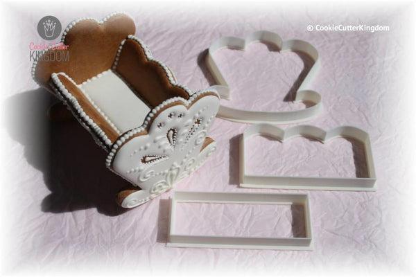 Cradle Cookie Cutter Set