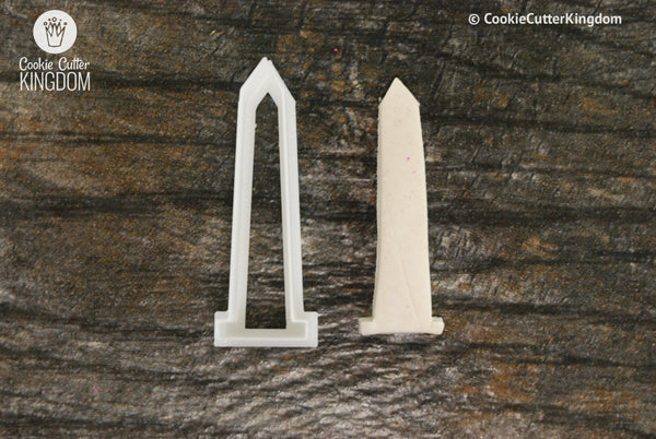 Washington Monument Cookie Cutter